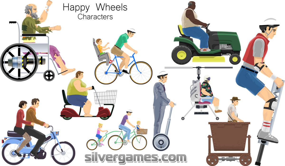 How to play Happy Wheels full game for free